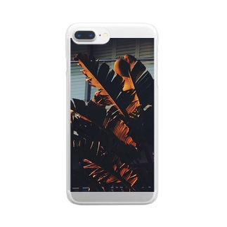 palm Clear smartphone cases