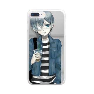 シエル・ファントムハイヴ Clear smartphone cases