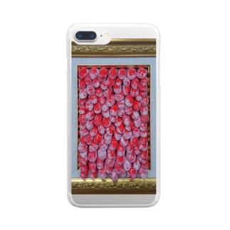 欲求シリーズ Clear smartphone cases