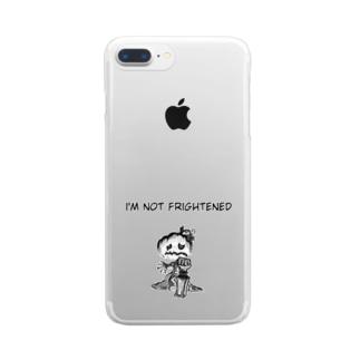 怖がりジャックオランタン Clear Smartphone Case
