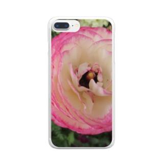 お姫様の夢の中で・・・ Clear smartphone cases