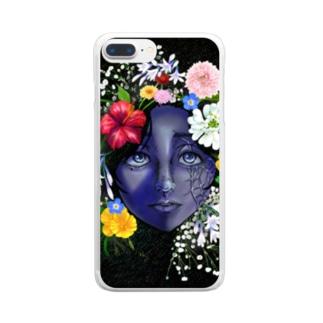 気持ち Clear smartphone cases