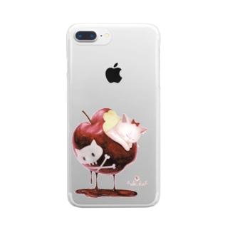 白猫姫 Clear smartphone cases