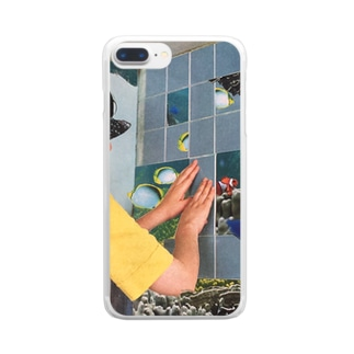 cucucollageitem Clear smartphone cases