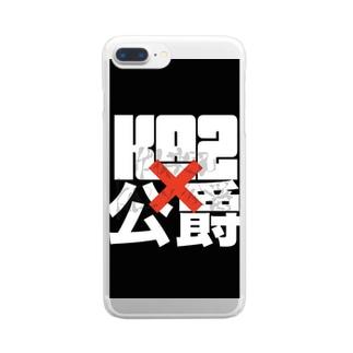 Ka2×公爵 Clear smartphone cases