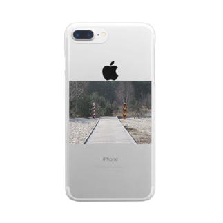 国境  Clear smartphone cases