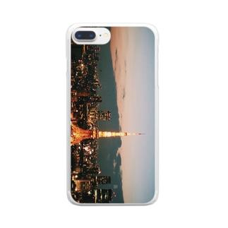 東京 Clear smartphone cases
