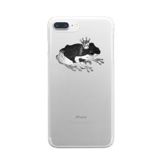 蛙 Clear smartphone cases