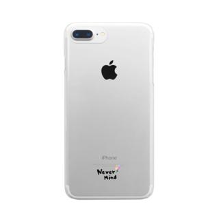 ねばーまいんど Clear smartphone cases