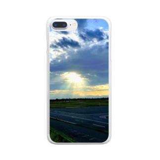 降臨(鮮明Ver.) Clear smartphone cases