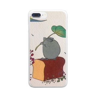 アメヲマツ🐰 Clear smartphone cases