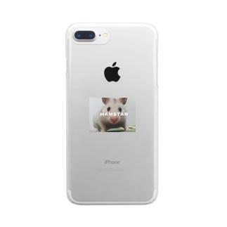 ごまたろ Clear smartphone cases