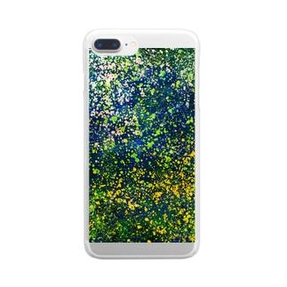 抽象画  Clear smartphone cases