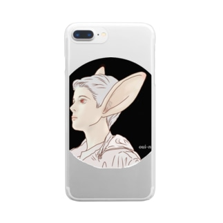 HARE BOY Clear smartphone cases