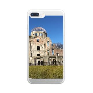 原爆ドーム Clear smartphone cases