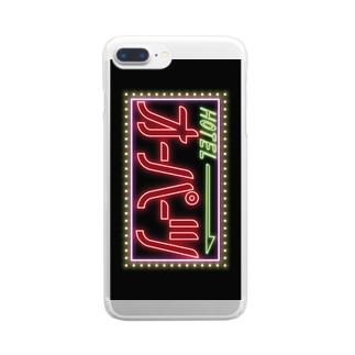 オーパーツ  Clear Smartphone Case