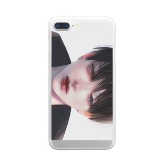【朝】 Clear smartphone cases