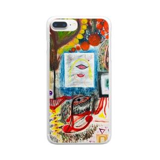 Chaos_Graffiti Clear smartphone cases