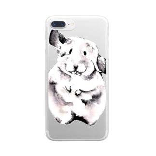 ねずみ Clear smartphone cases