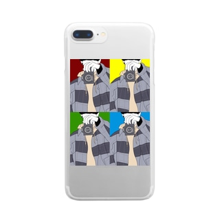 camera boy Clear smartphone cases