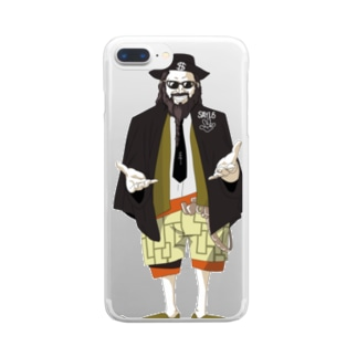 HARLAND GONE Clear smartphone cases