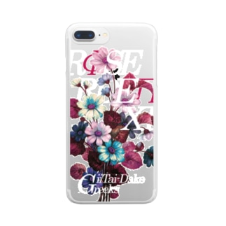 ROSE GARDEN XLUB Clear smartphone cases