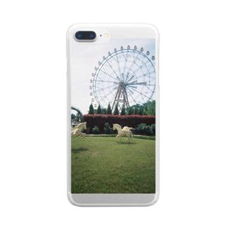 ゆうえんち Clear smartphone cases