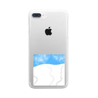 シュプール Clear smartphone cases