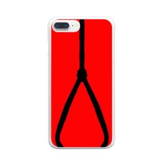 縄 Clear smartphone cases