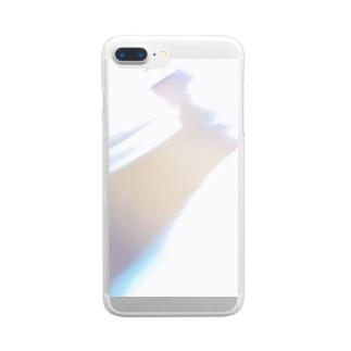 フラッシュ Clear smartphone cases