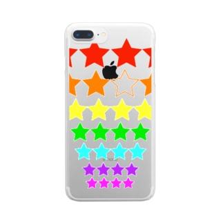 スターシリーズ Clear smartphone cases