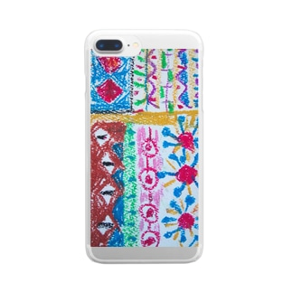 105colorful Clear smartphone cases