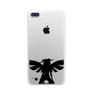 スターシリーズ✖️ハロウィン Clear smartphone cases