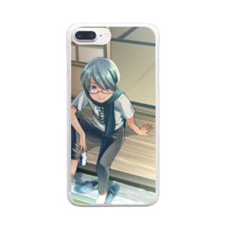 【縁側】iPhoneクリアスマホケース Clear smartphone cases