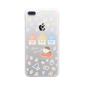 いい気分(Gute Laune)☺︎ Clear smartphone cases
