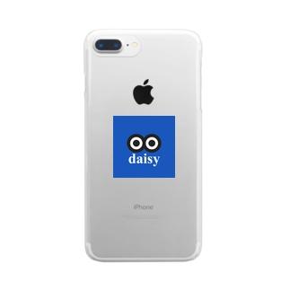 デージーちゃん Clear smartphone cases