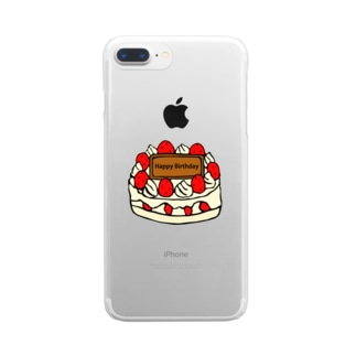 birthday Clear smartphone cases