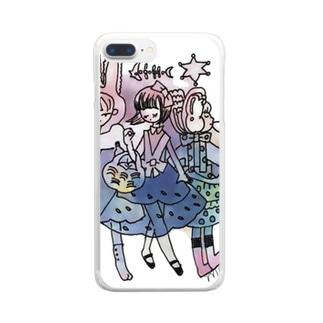 ミルドガールズ2 Clear smartphone cases