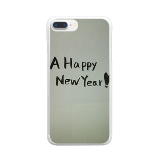A Happy New Year‼ Clear smartphone cases