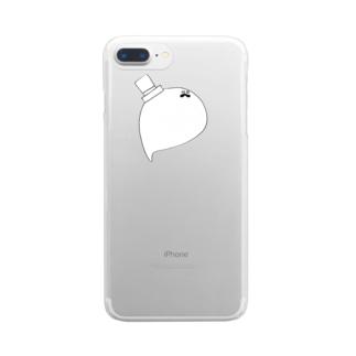 だにえる Clear smartphone cases