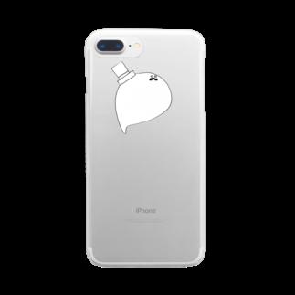 pepechiのだにえる Clear smartphone cases