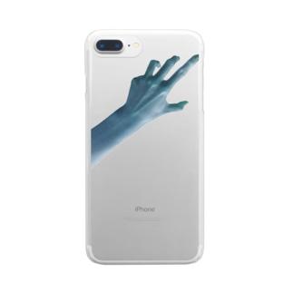 ひとりが寂しい夜に Clear smartphone cases