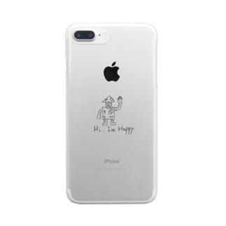 Hi, I'm Happy. Clear smartphone cases