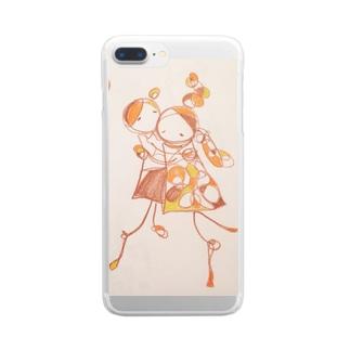 ラブユーA Clear smartphone cases