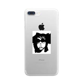 SUPER HOTDOG GIRL! Clear smartphone cases
