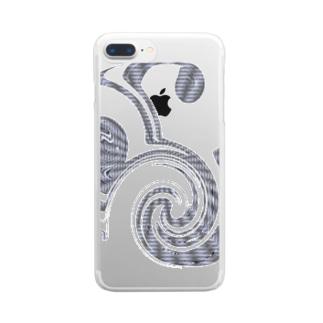 新しい音楽(演奏)記号 Clear smartphone cases