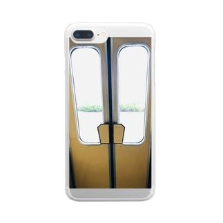 扉っ Clear smartphone cases