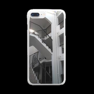 西園寺 颯斗のステアズウェイ Clear smartphone cases