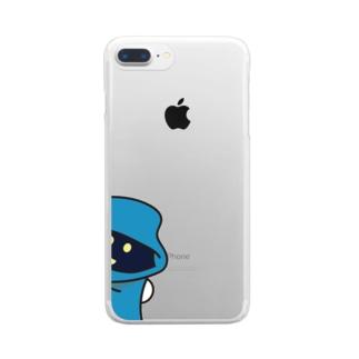 ひょっこりたかっし Clear smartphone cases