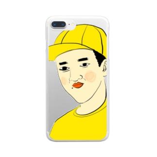 つうこうにん Clear smartphone cases